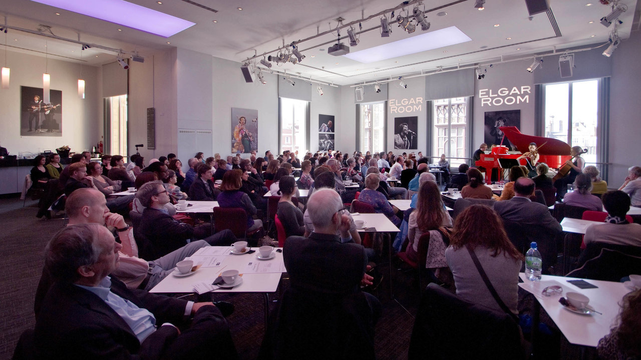 Classical Coffee Morning in the Elgar Room of the Royal Albert Hall