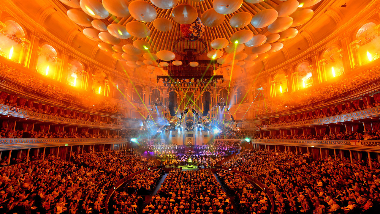 Main auditorium during Classical Spectacular 2012 at the Royal Albert Hall.