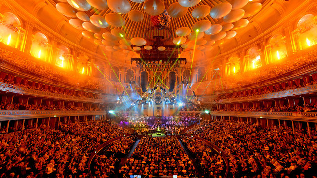Main auditorium during Classical Spectacular 2012 at the Royal Albert Hall.