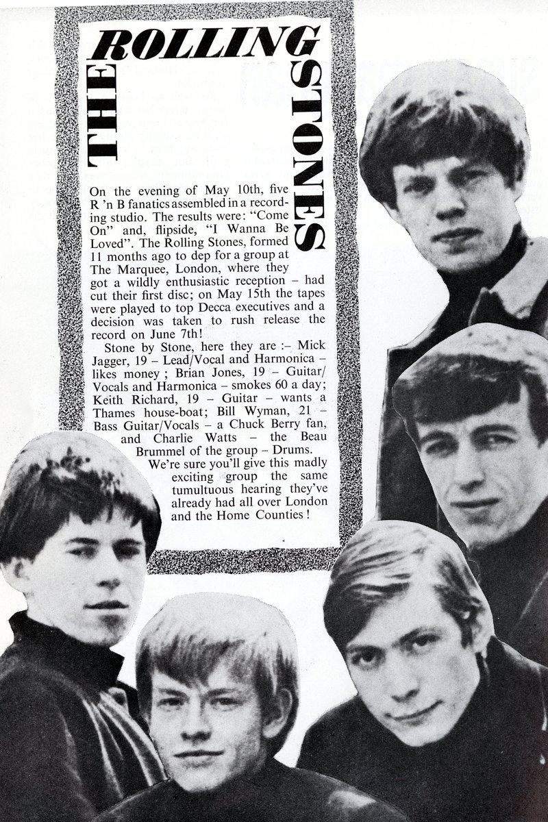 The Rolling Stones at The Great Pop Prom, 15 September 1963, programme