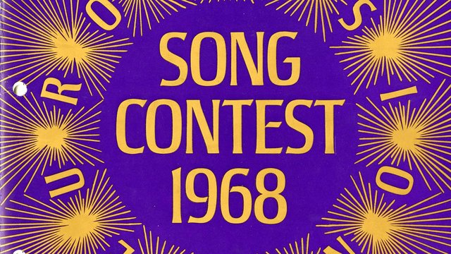 1968 programmes from Eurovision Song Contest 1968 at the Royal Albert Hall