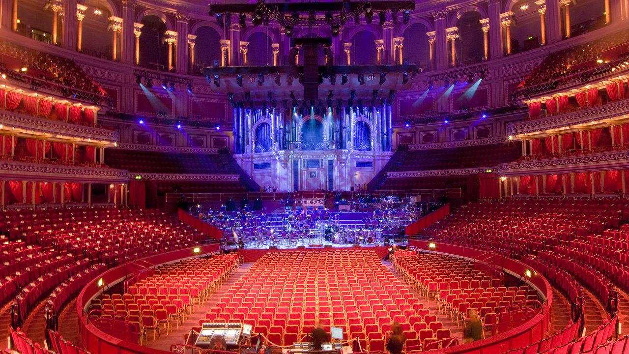 An empty auditorium at the Royal Albert Hall