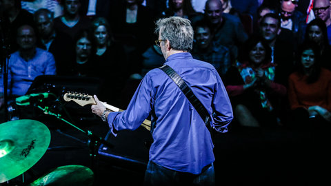 Royal Albert Hall's most prolific living performer Eric Clapton returns to our stage and is awarded France's highest cultural honour