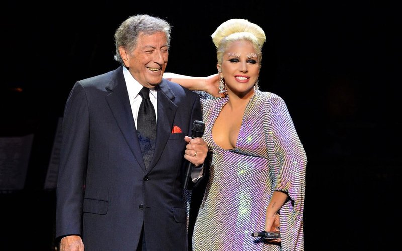 Lady Gaga and Tony Bennett in 2015