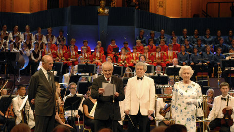 75 years of the Proms at the Royal Albert Hall: The Queen marks her 80th birthday with a special Proms concert, 19 July 2006