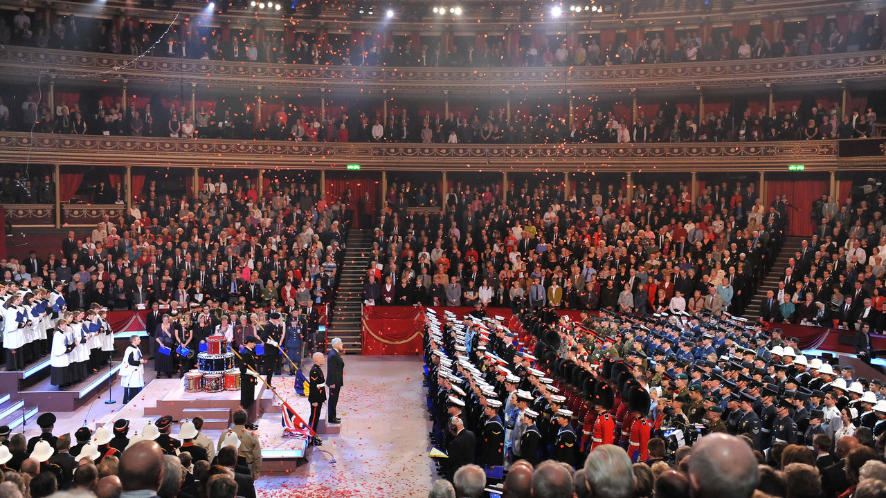 Festival of remembrance royal albert hall royal albert for Door 12 royal albert hall