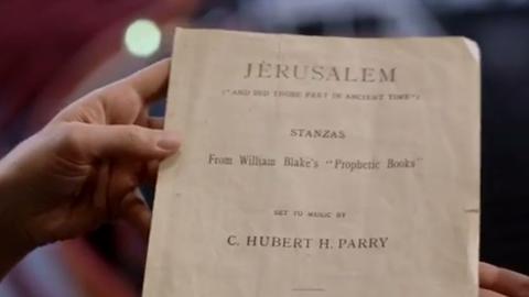 Happy Birthday Jerusalem! Celebrating the life of England's unofficial National Anthem