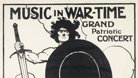 Music at the Royal Albert Hall during the First World War