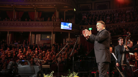 Bryn Terfel and friends celebrate the singer's 50th birthday at the Royal Albert Hall
