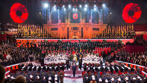 How to watch the Royal British Legion Festival of Remembrance