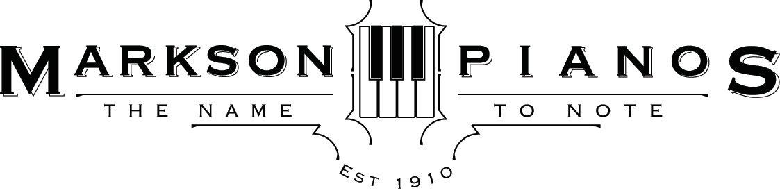 Markson Pianos logo)