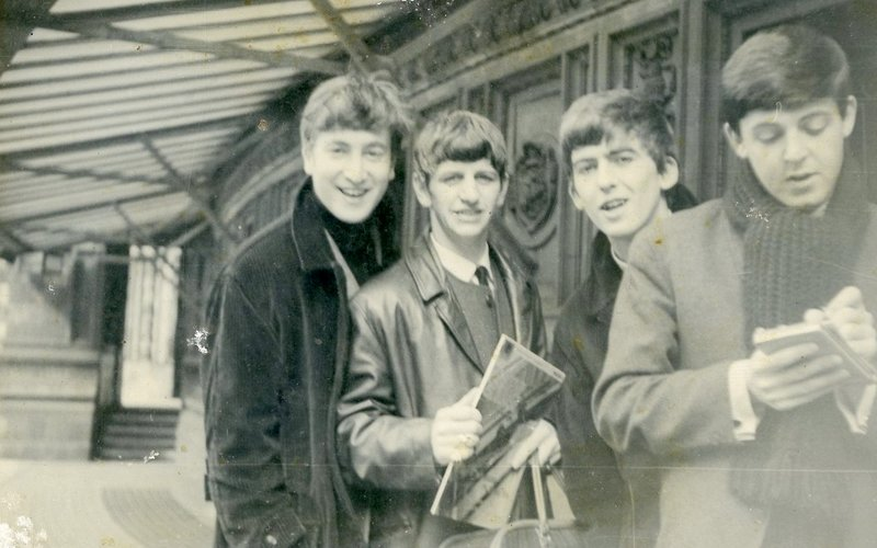 The Beatles at the Royal Albert Hall, 18 April 1963