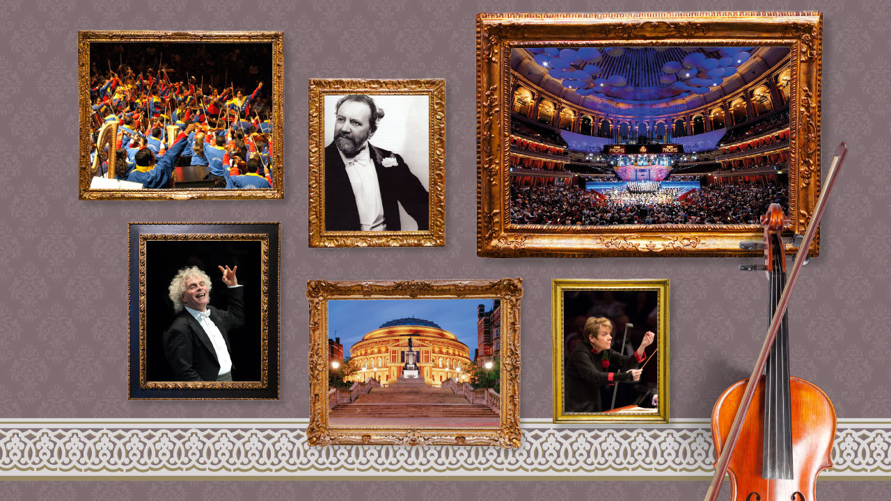 Story of the Proms Tour Artwork