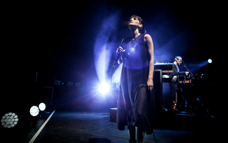 PIC*(Chvrches, Royal Albert Hall 31 March 2016 (c) Christie Goodwin