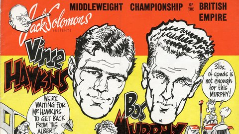 From the Archives: the Boxing Championship of the British Empire programme, 1948