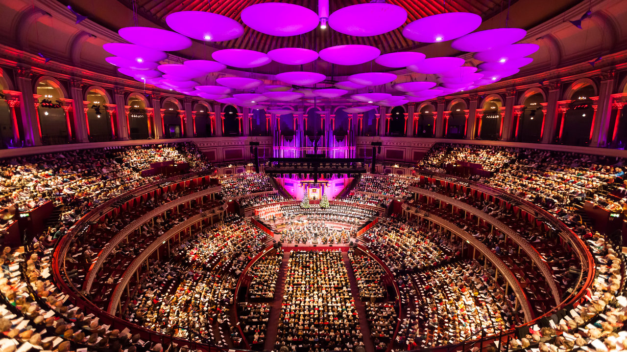 John rutter 39 s christmas celebration royal albert hall for Door 12 royal albert hall