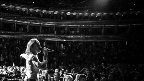 Iggy Pop's legendary Royal Albert Hall show will be available to stream for free - here's how to watch it
