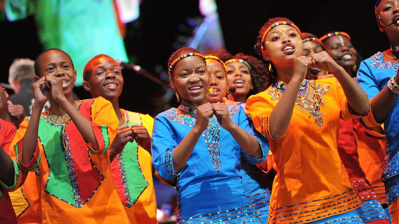 International Youth Choir Festival. 15 April 2017. Mzanzi Youth Choir