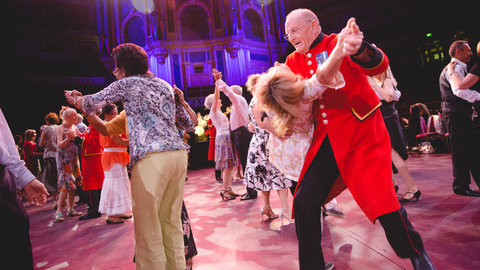 Tea Dances and more: bringing the magic of the Royal Albert Hall to elderly audiences