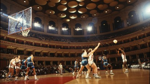 From the Archives: Basketball at the Royal Albert Hall