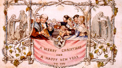 First Christmas Card - Henry Cole