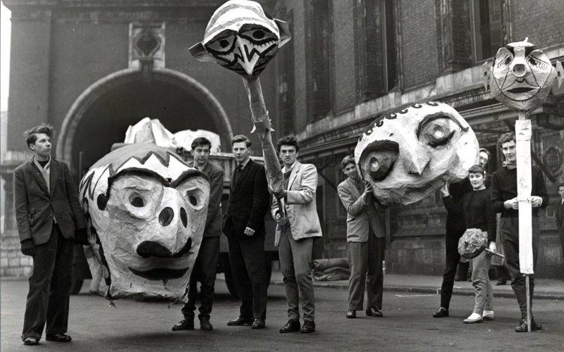The Chelsea Arts Club Ball - 'Fun', 31 December 1953