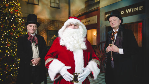 Father Christmas at the Royal Albert Hall - an enchanting tour and grotto for young people at the Royal Albert Hall. 4 December 2016