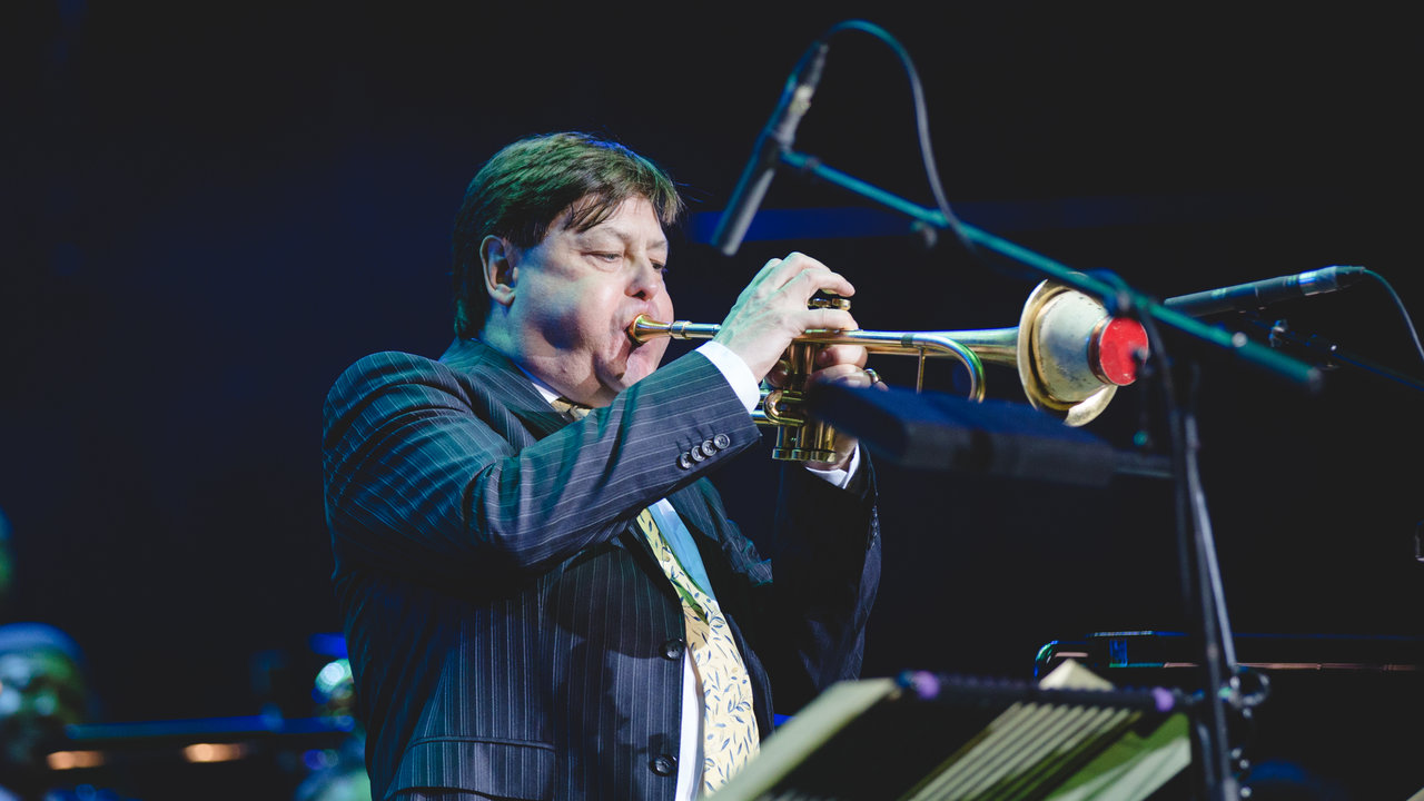 Guy Barker at Guy Barker's Big Band Christmas 11 December 2016