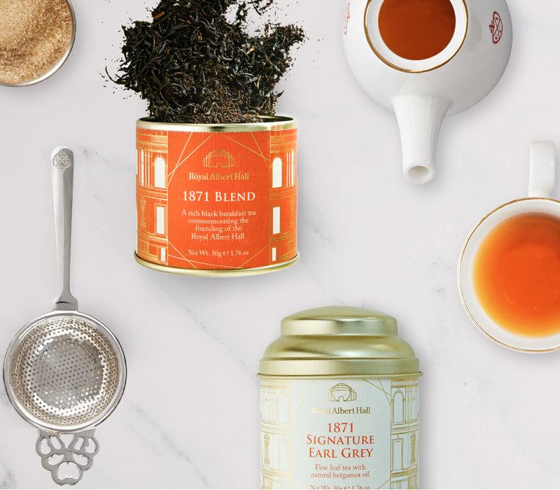 The East India Company, the Royal Albert Hall's tea supplier