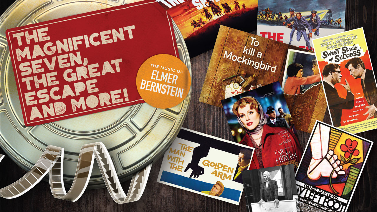 The Best of Elmer Bernstein: The Magnificent Seven, The Great Escape and more!