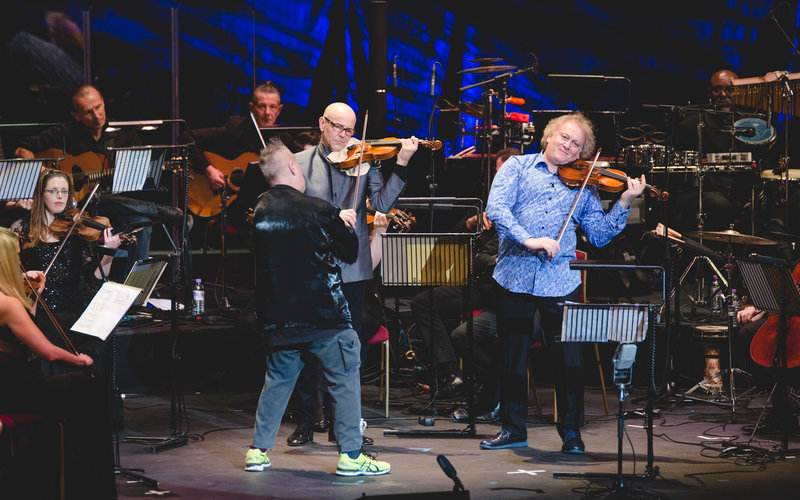 In pictures: Robert Plant and Jean-Luc Ponty join Nigel Kennedy at a
