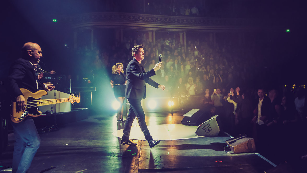 Rick Astley at the Royal Albert Hall in 2016. © Christie Goodwin