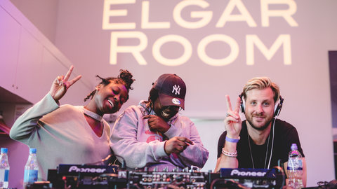 Drum and Bass duo Sigma lead DJ workshop at the Royal Albert Hall, as part of the Albert Sessions