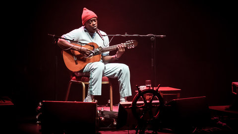 'Intimate, conversational, just about perfect' – Seu Jorge headlines the Royal Albert Hall with sensational Bowie tribute show