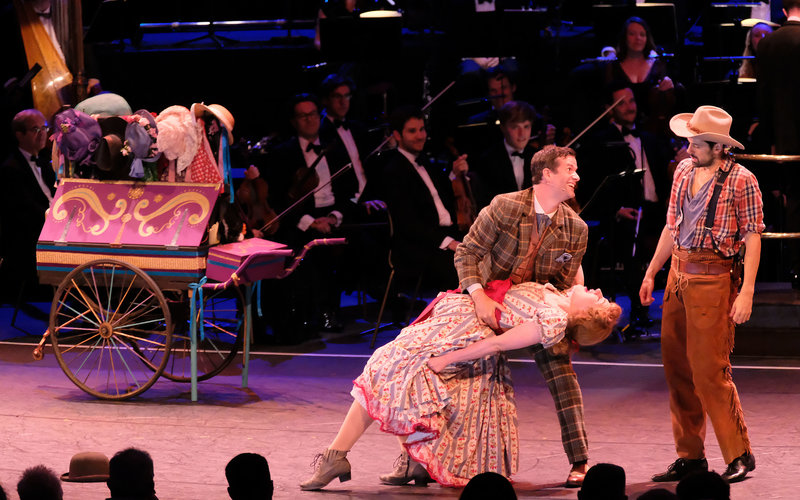 A history of musical theatre at the Royal Albert Hall