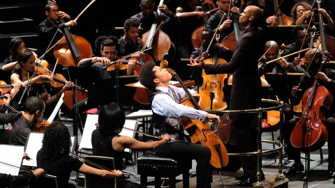 Watch highlights: UK's first majority BME orchestra Chineke! make their Proms debut