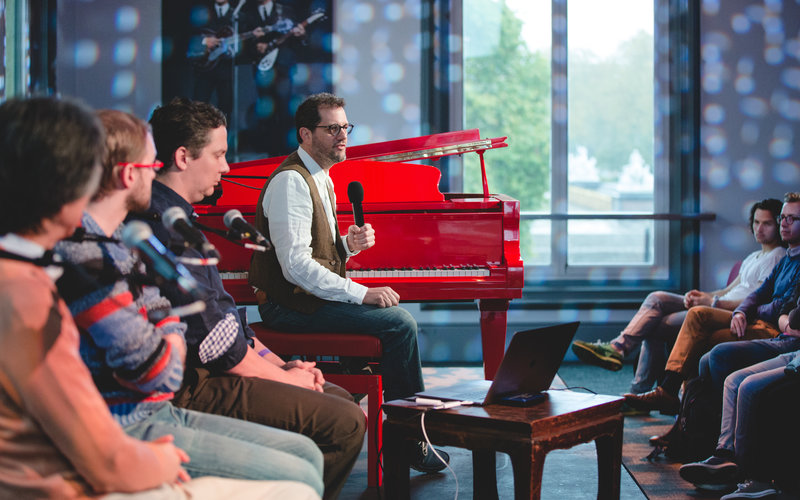 Michael Giacchino's Screen composition masterclass (c) Andy Paradise