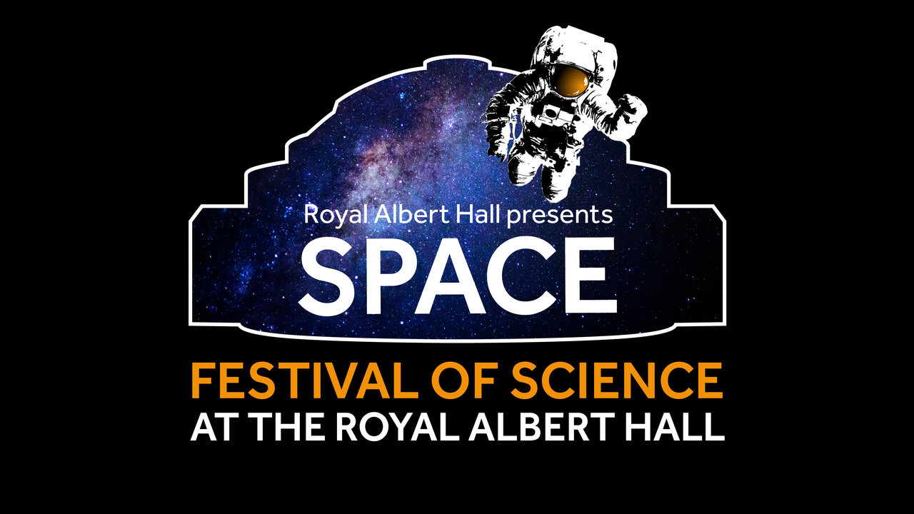 Royal Albert Hall Festival of Science: Space Festival branding, 2018