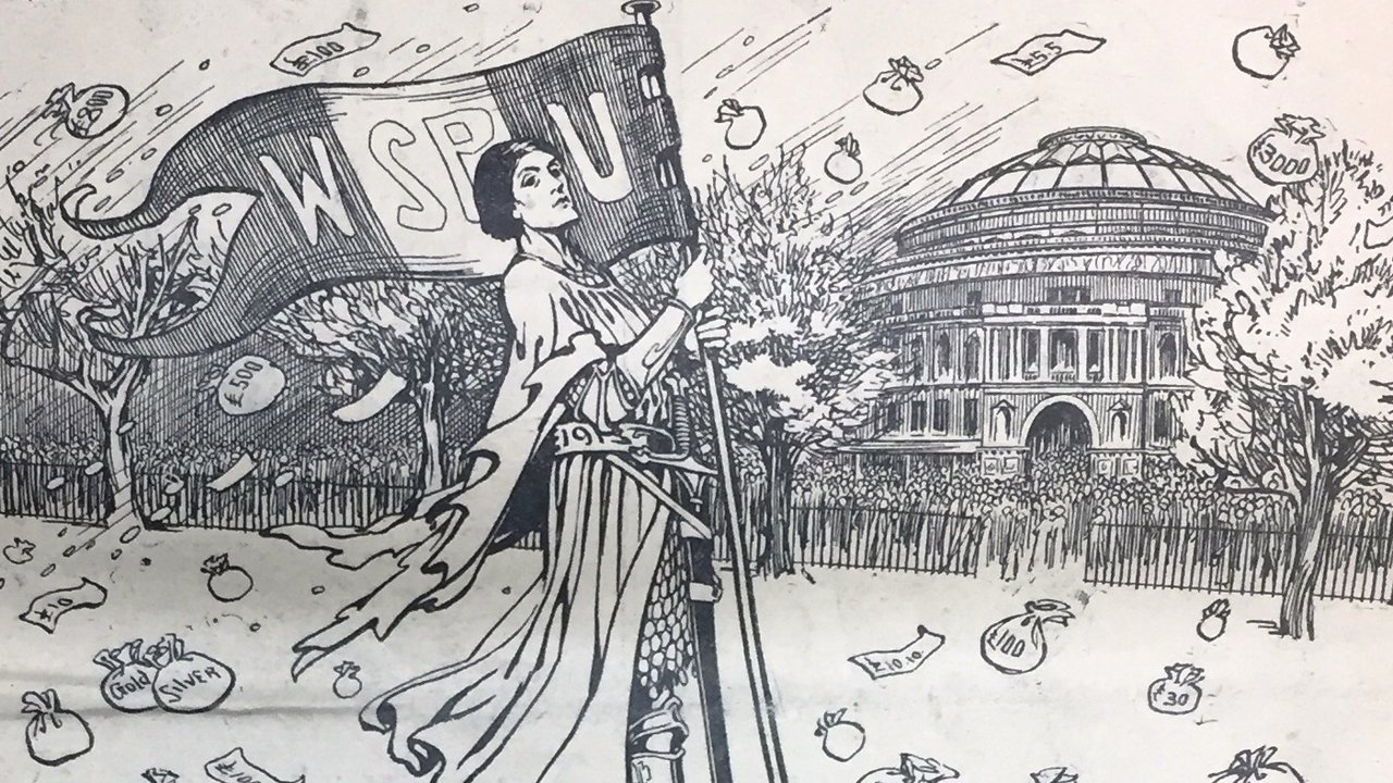 Illustration from The Suffragette