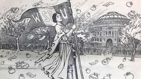 Celebrating 100 years of votes for women: Women's suffrage and the Royal Albert Hall