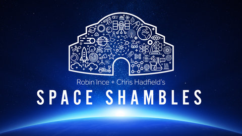 Space Shambles: Special guests joining Chris Hadfield and Robin Ince announced