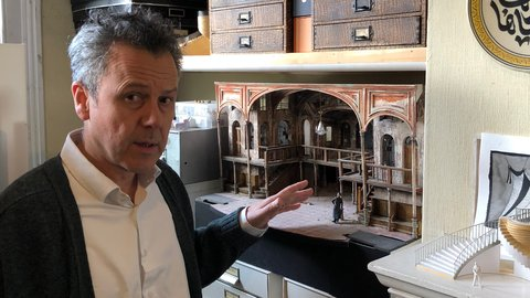 The Nutcracker: building a new Nutcracker set for the Royal Albert Hall with Dick Bird