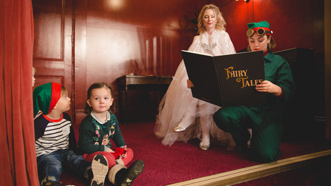 Father Christmas returns to the Royal Albert Hall to meet children in a brand-new theatrical production on 2 December 2017
