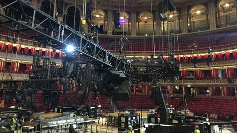 Watch: transforming the Royal Albert Hall into a circus, for the arrival of Cirque du Soleil's OVO