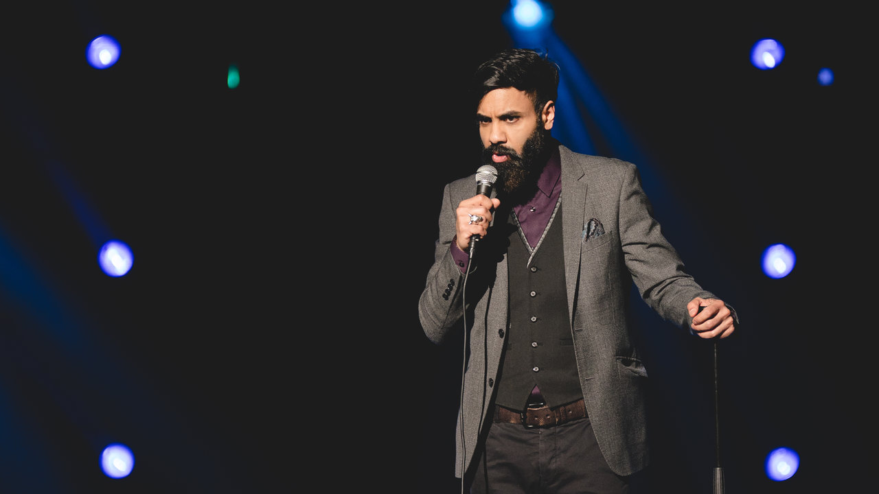 Paul Chowdhry performs at the Teenage Cancer Trust comedy night at the Royal Albert Hall on 20 March 2018