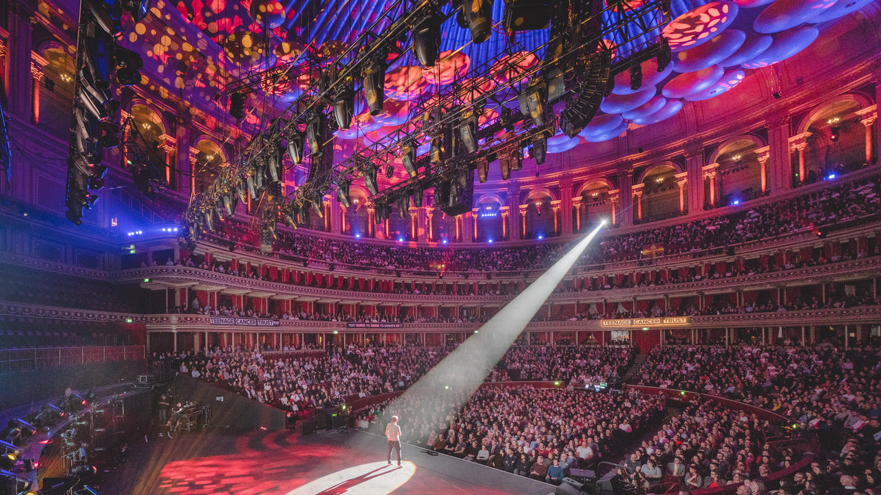 Russell Howard performs at the Teenage Cancer Trust comedy night at the Royal Albert Hall on 20 March 2018