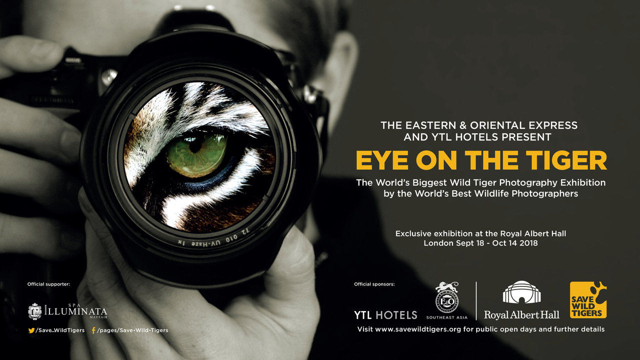Eye on the Tiger exhibition on the Ground Floor corridor running Tuesday 18 September – Sunday 14 October 2018