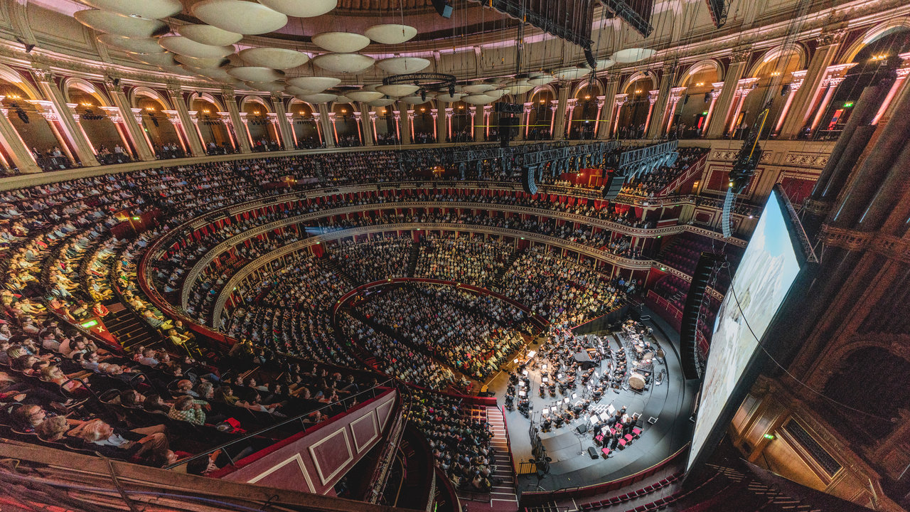 Planet Earth II at the Royal Albert Hall on Sunday 13th May