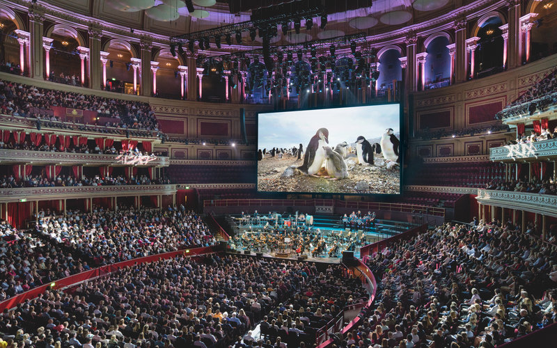Planet Earth II in Concert. Photo Andy Paradise