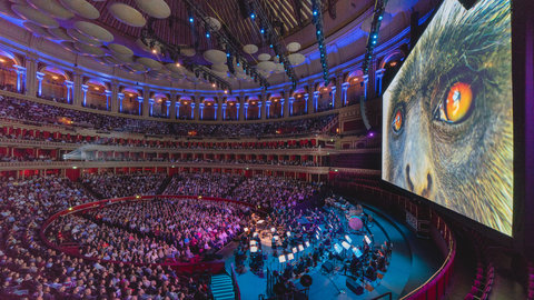 Exclusive photos, reactions and playlist: Planet Earth II Live in Concert at the Royal Albert Hall